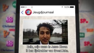 Appen met Jesse Klaver (GroenLinks)
