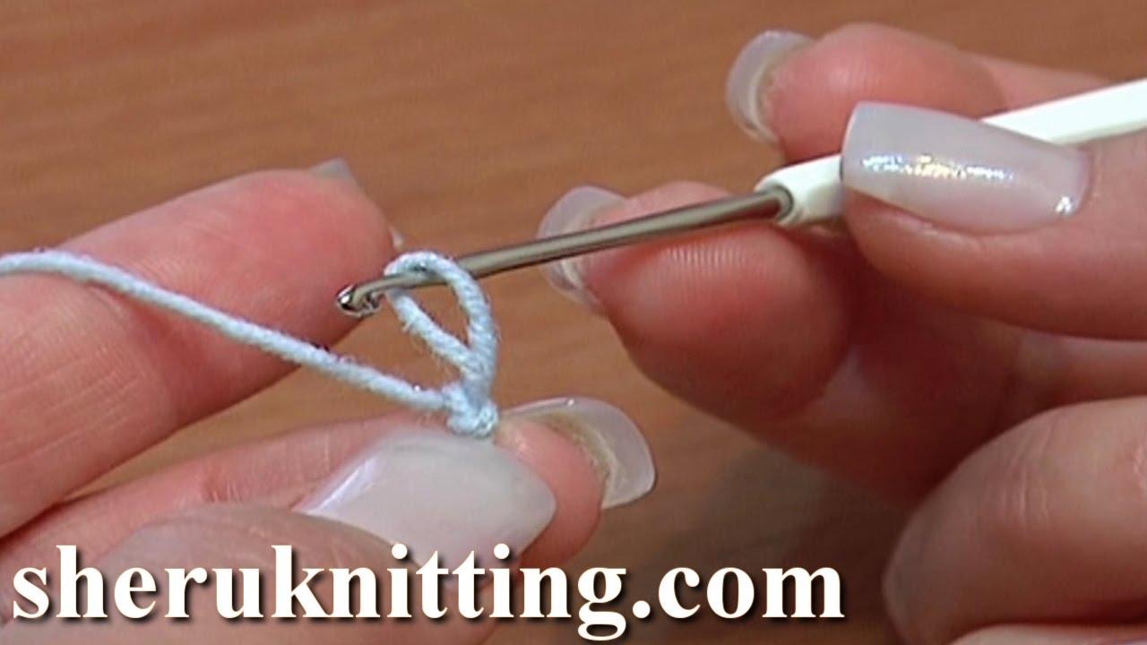 how to start crochet slip knot