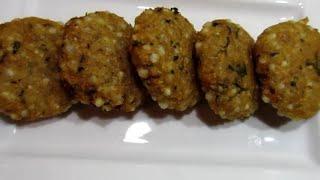 Mumbai famous sabudana wada   Foodland mumbai