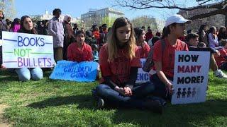 Parkland students lead nationwide school walkouts