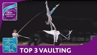 FEI World Cup™ Vaulting - Munich, Top 3 Females
