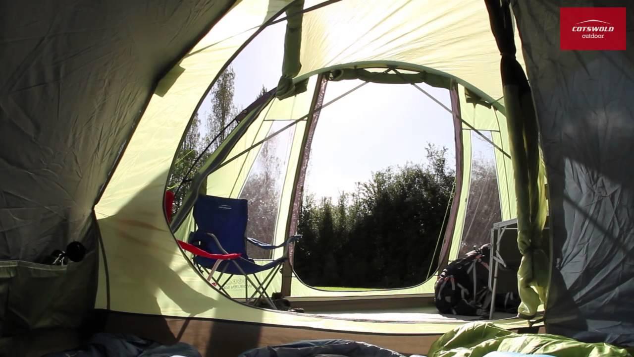 & Vango Woburn 500 Tent - YouTube