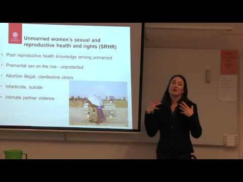 Sexual and Reproductive Health and Rights in Sri Lanka - Malin Jordal