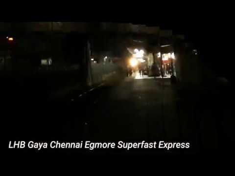 Newly LHBfied Gaya Chennai Egmore Superfast Express with Mughalsarai WDM3A