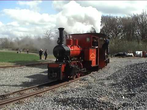 Statfold Barn Railway, 9th April 2016