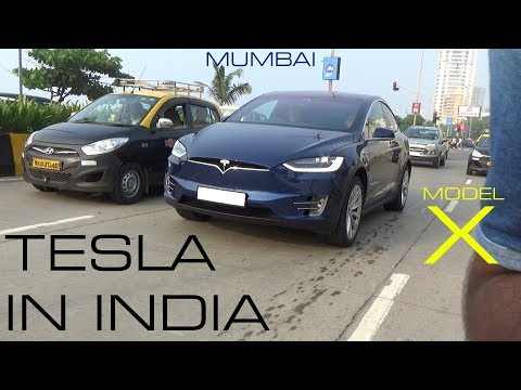 India's FIRST TESLA | Tesla Model X 90D | Mumbai | India