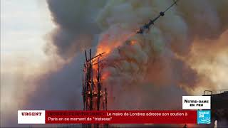 En IMAGES : Retour sur l'incendie de la cathédrale Notre-Dame de Paris