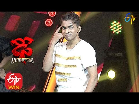 Piyush Performance | Dhee Champions | 21st October 2020  | ETV Telugu