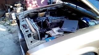 Тюнинг Форд Гранада с мотором от Мондео 2.0 16 кл!реальная съемка !!