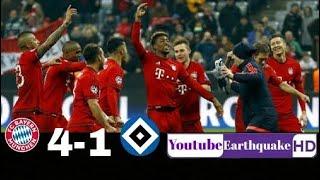 ملخص مباراة بايرن ميونخ وهامبرغ |1-4| [شاشة كاملةHD]
