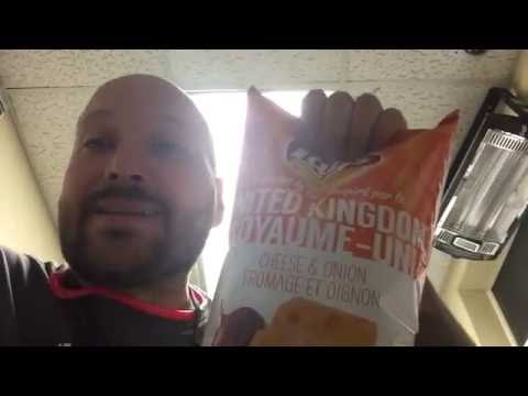 "Lay's - United Kingdom Cheese & Onion chips review ""Chip Chirpers"""