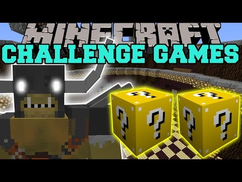 Minecraft: GENERAL GRAARDOR CHALLENGE GAMES - Lucky Block Mod - Modded Mini-Game