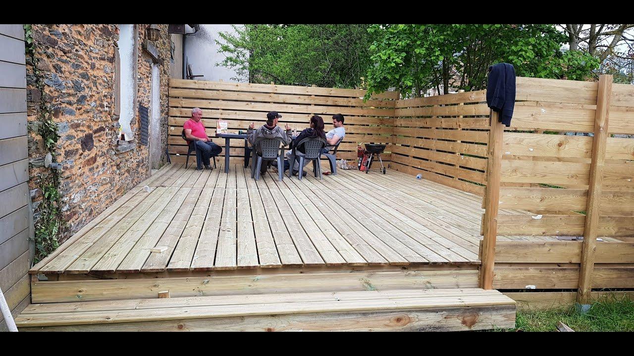 Construire Terrasse En Bois construction terrasse en bois