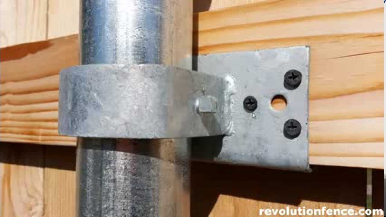 Wood Fence Bracket Comparison Revolution Fence