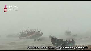 Gambar cover 🔴Rekaman amatir cuaca ektrim di REMBANG JAWA TENGAH 9 Mei 2020