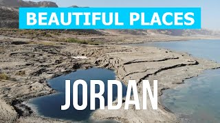 Jordan beautiful places to visit   Nature, sea, attractions, tourism, beaches, vacation   4k video