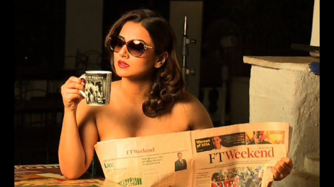 vidya balan's topless hot photoshoot | dabboo ratnani calendar