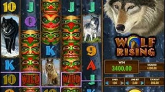 Wolf Rising IGT Online Slots - Big Win Free Play Game
