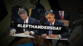 Left Handers Day 2014 - our favourite images