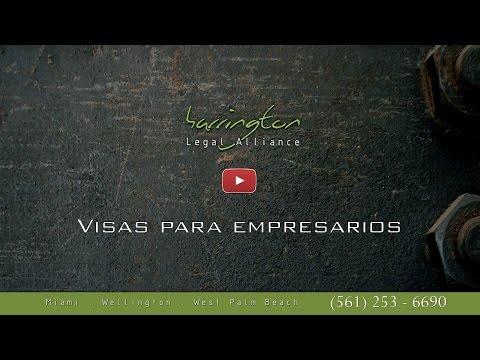 Inmigracion: Visas Para Empresarios | Harrington Legal Alliance | West Palm Beach, FL
