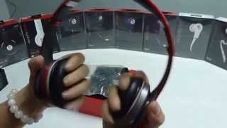 Review: Beats By Dre red S450 Bluetooth SOLO HD Wireless headphone  ---flydream