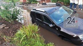 Нижнекамец судится с дорожниками и УК «Жилье» из-за ямы, в которую провалился его автомобиль