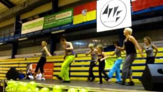 Zumba Party Wrocław Listopad 2010 - Wyginam śmiało ciało - Kamila
