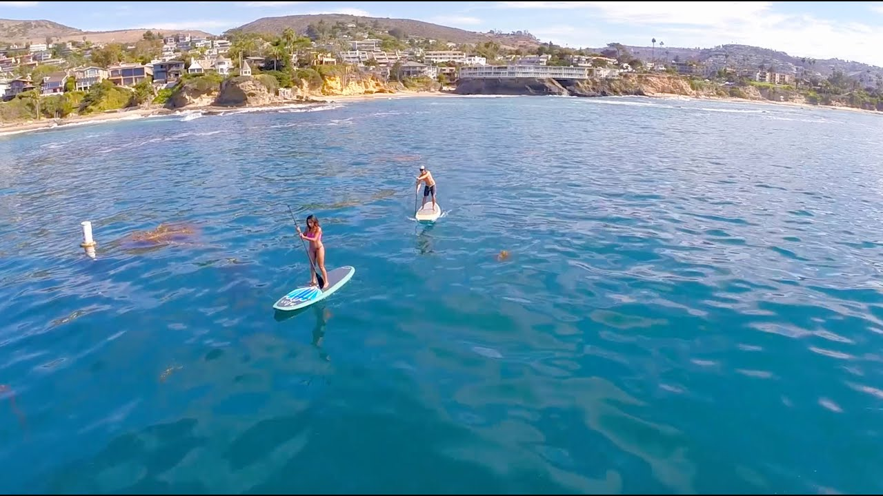 The Posh Pearian Stand Up Paddle Board Yoga In Laguna Beach Sup