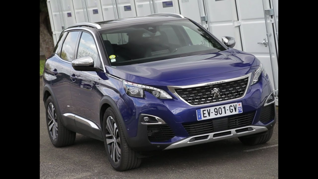 Essai Peugeot 3008 2.0 BlueHDI 180 EAT8 GT 2018 - YouTube