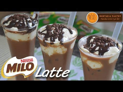 Milo Latte | How To Make Mocha Latte Using Milo! | Ep. 47 | Mortar And Pastry