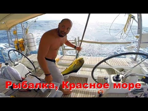 видео: Красное море на яхте. Погода в Красном море. Рыбалка на яхте и очень длинный переход в разной погоде