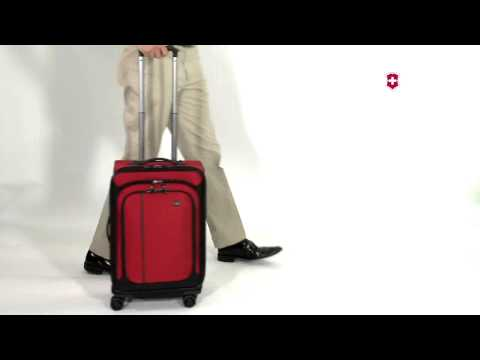 Dual Trolley Handle System on Werks Traveler 4.0 by Victorinox