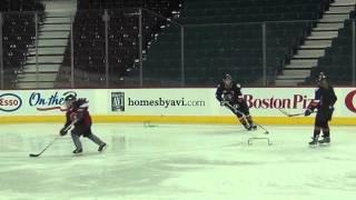 Axis Strength - Calgary Hitmen Training With Kids Hockey