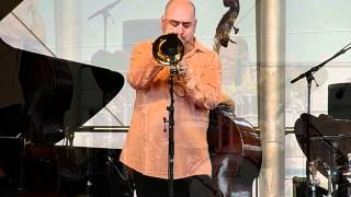 Stéphane Belmondo Quartet (Extraits) @ Paris Jazz Festival, le 8 juillet 2012