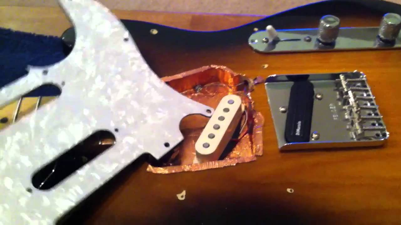 Humbucker Pickup Wiring Diagram Read More Install Strat How To Change Out Pickups On Fender Telecaster Youtube