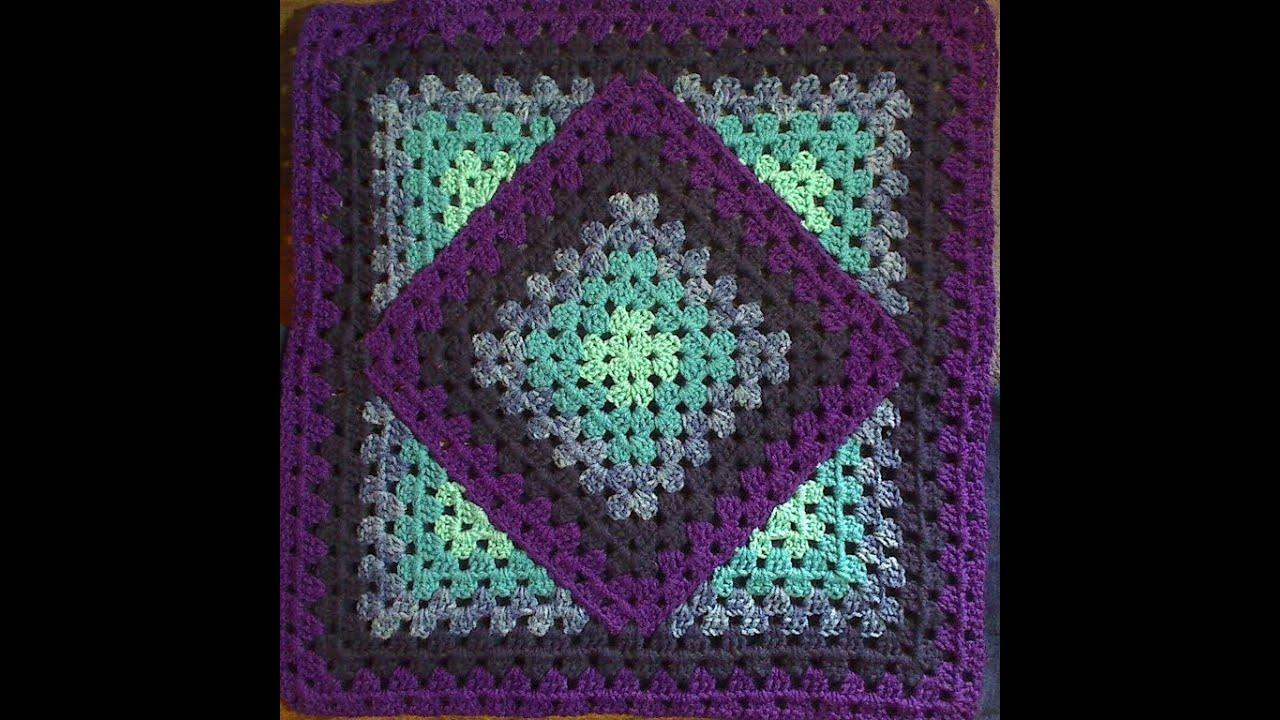 Squared Diamond Granny Youtube