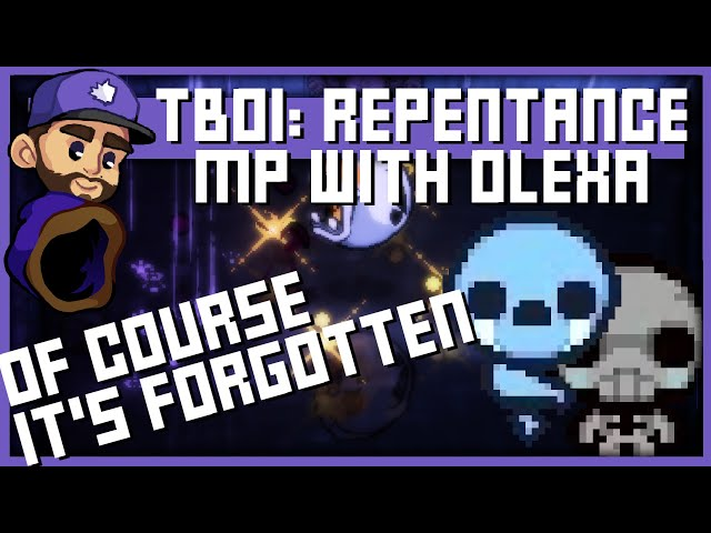 I WAS FORGOTTEN | The Binding Of Isaac Repentance Multiplayer - Featuring  @Olexa