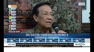 Sultan Hb X Serukan Pesan Damai Pascapemilu 2019