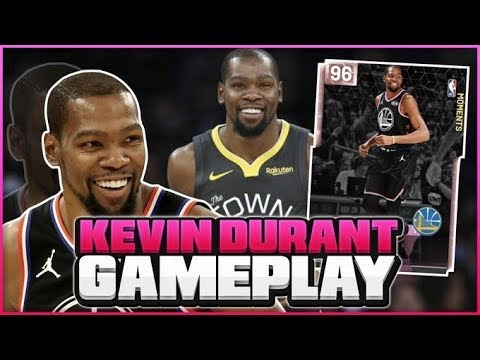 a45d2af1ccde PINK DIAMOND KEVIN DURANT GAMEPLAY! HE IS THE BEST MOMENTS CARD IN THE  GAME! NBA 2K19 MYTEAM