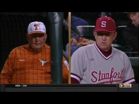 Baseball 2016 - Texas v Stanford, Game 2