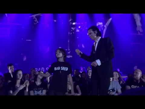 Nick Cave Manchester 9/25/17 Push the Sky Away Encore