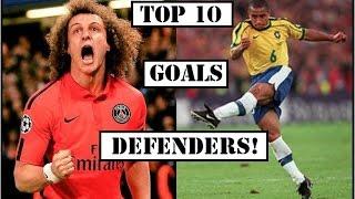 Top 10 Best Defenders Goals Ever ● Best Goals by Defenders ● HD
