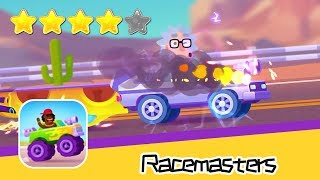 Racemasters - Clash of Cars Online Day11 Walkthrough Win the furious car race! Recommend index four