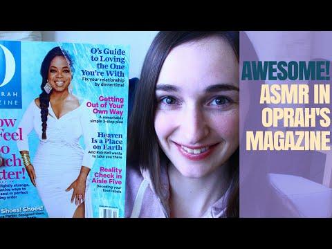 ASMR on Oprah's O Magazine!