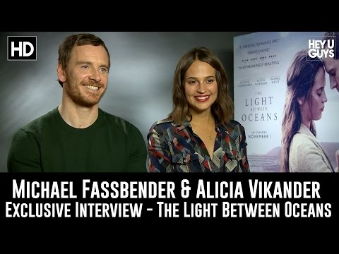 Michael Fassbender & Alicia Vikander Exclusive Interview - The Light Between Oceans