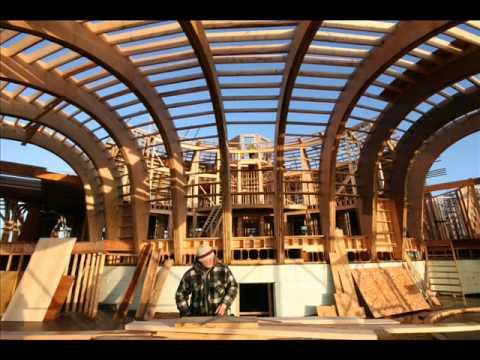 Dreamfield construction the home of bioarchitect michael for Construction bio