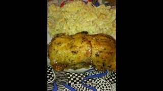 Baked Chicken stuffed With Shrimp Stuffing Part 1