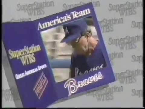 Atlanta Braves 1986 WTBS Super Sports On The Superstation Promo