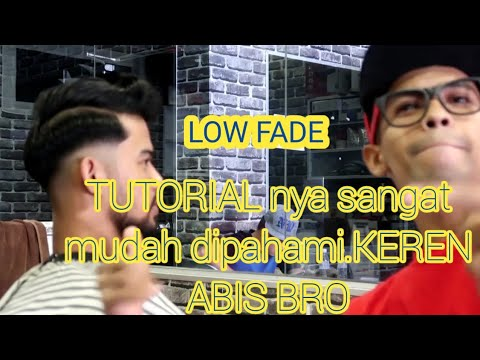 Tutorial LOW FADE. NEW HAIR STYLIST CUTTING Cara paling mudah belajar  potong rambut law fade 9dd7430be2