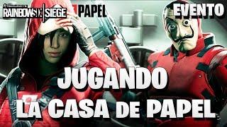 JUGANDO el evento LA CASA DE PAPEL | Caramelo Rainbow Six Siege Gameplay Español
